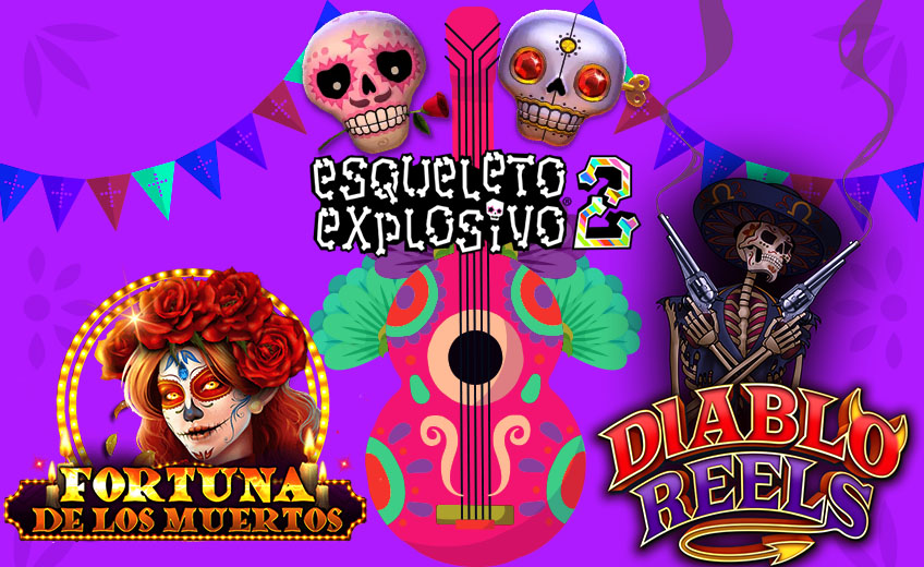 Day of the Dead in Mexico: The Best Slots of 2020