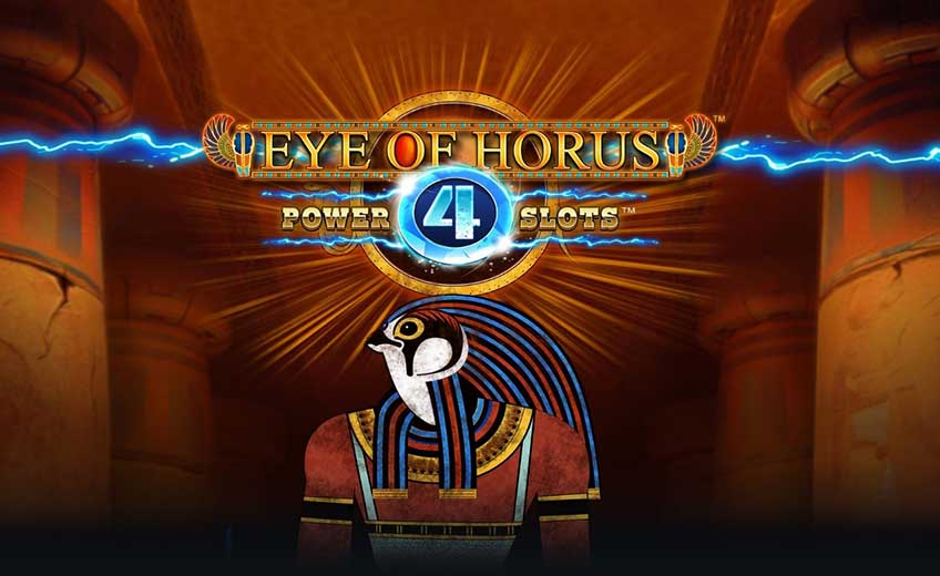 Blueprint Has Released the Eye of Horus Game Adding the Power 4 Slots Mechanics