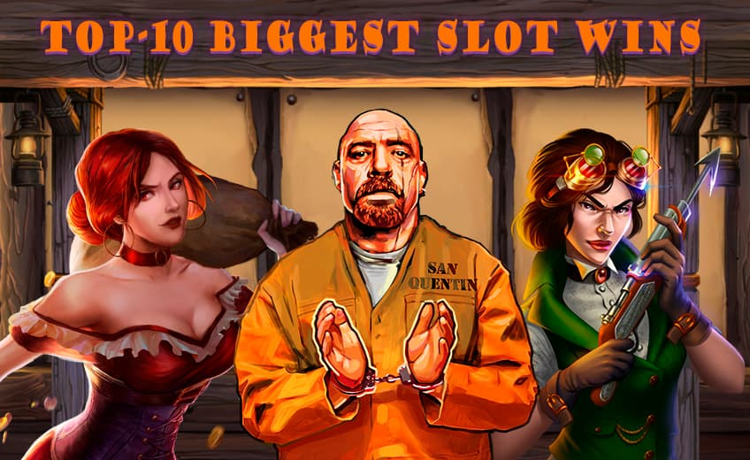 TOP 10 Biggest Online Slot Wins from 16 February to 28 February