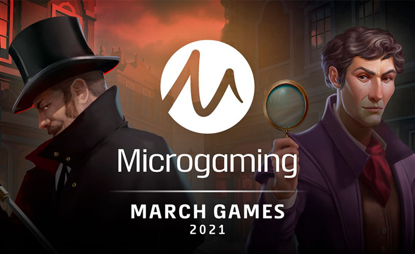 Microgaming Announces Fresh Game Releases for March 2021