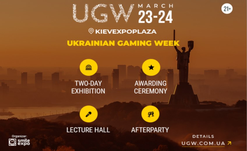 Don't miss the main gambling event of the country - Ukrainian Gaming Week 2021! Range of available solutions and current program