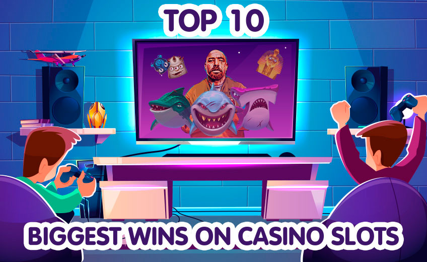 TOP 10 Biggest Online Slot Wins from 1 March to 15 March
