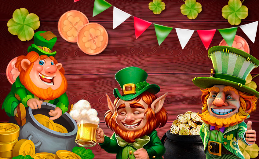 7 Perfect Video Slots Dedicated to St. Patrick's Day
