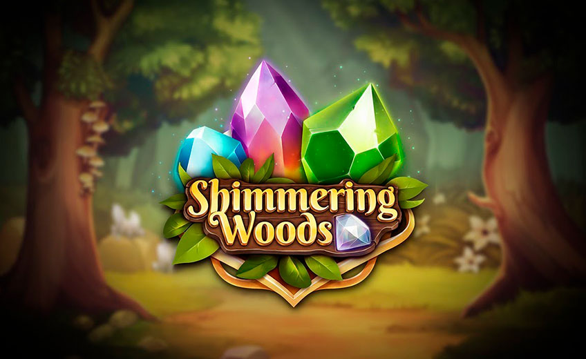 Be a Friend with Diamonds in Shimmering Woods by Play'N Go