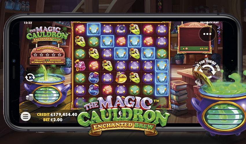 Logo The Magic Cauldron - Enchanted Brew