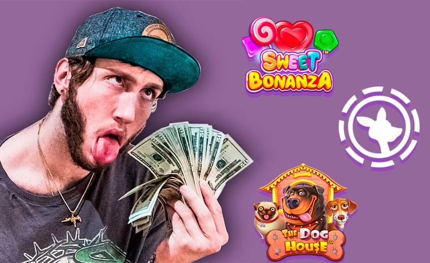 """Popular YouTuber """"FaZe Banks"""" Goes Wild in Online Casino"""
