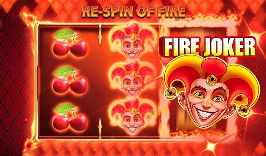 Logo Fire Joker Slot