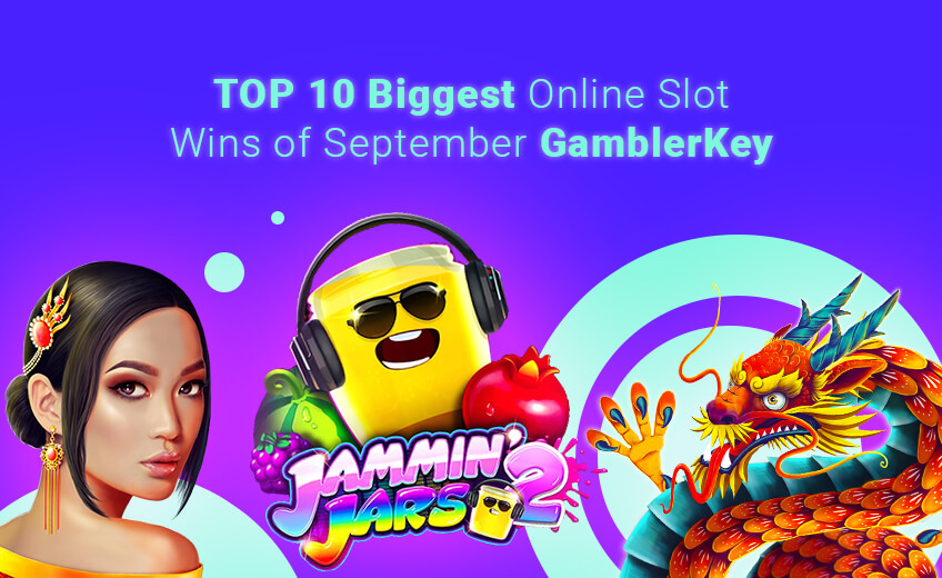 TOP 10 Biggest Online Slot Wins of September (from 16 September to 30 September)