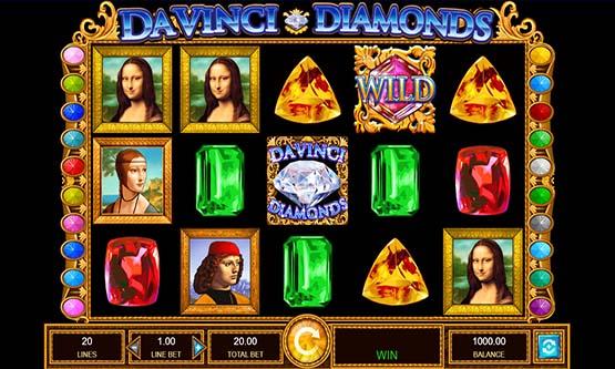 Screenshot DaVinci Diamonds