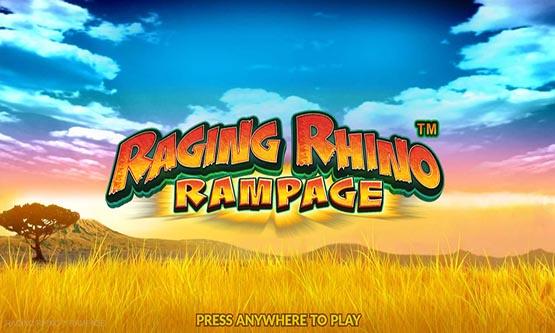 Screenshot Raging Rhino Rampage
