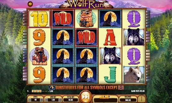 Screenshot Wolf Run