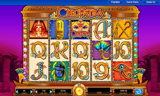 Screenshot Cleopatra Slot