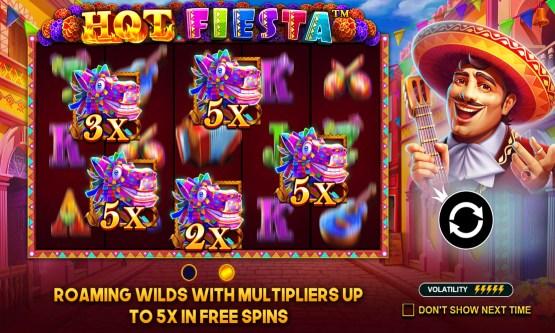 Screenshot Hot Fiesta Slot