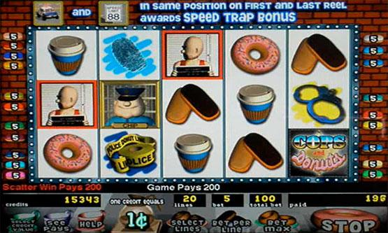Screenshot Cops and Donuts