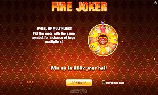 Screenshot Fire Joker Slot